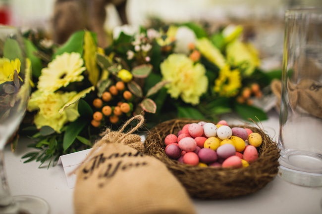 Bright and interesting Easter wedding tables with character on the English Wedding Blog (16)