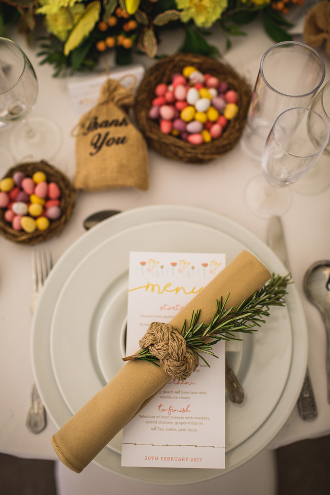 Bright and interesting Easter wedding tables with character on the English Wedding Blog (12)