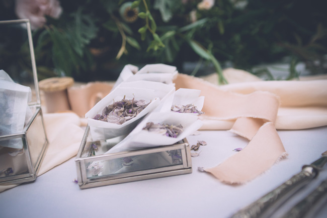 Soft, romantic blush and grey wedding table styling ideas by One Stylish Day (12)