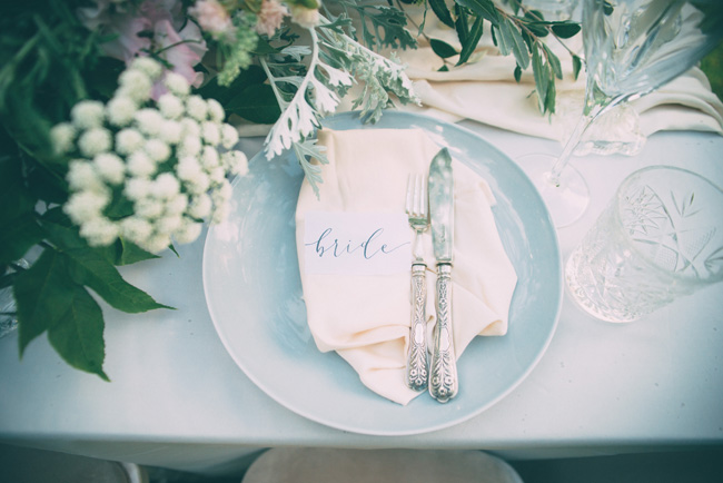 Soft, romantic blush and grey wedding table styling ideas by One Stylish Day (5)