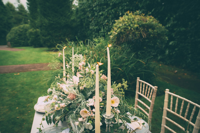 Soft, romantic blush and grey wedding table styling ideas by One Stylish Day (6)