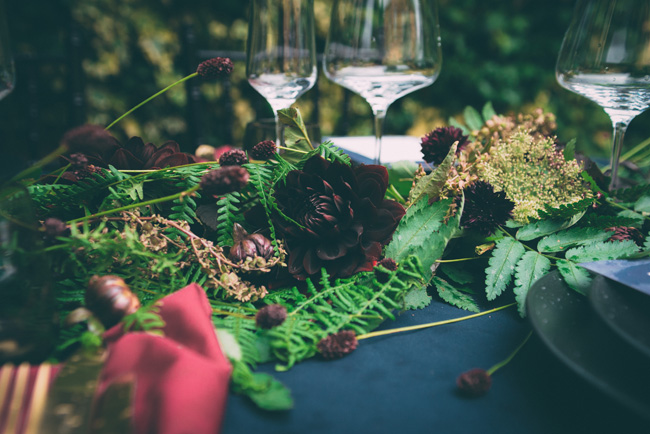 moody wedding style ideas for 2018 with One Stylish Day on the English Wedding Blog (12)