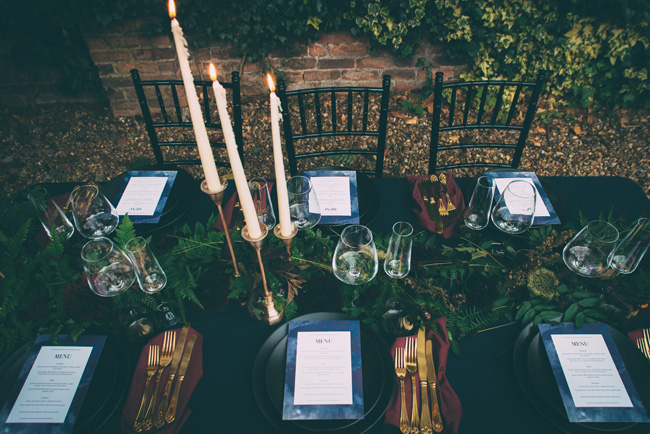 moody wedding style ideas for 2018 with One Stylish Day on the English Wedding Blog (6)