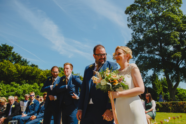 Summer flowers, sequins and a relaxed party atmosphere for Joe & Nicola's Hautbois Hall wedding. Photo credit Rob Dodsworth (12)
