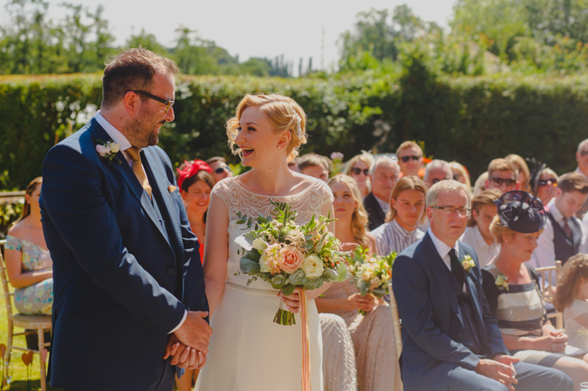 Summer flowers, sequins and a relaxed party atmosphere for Joe & Nicola's Hautbois Hall wedding. Photo credit Rob Dodsworth (13)
