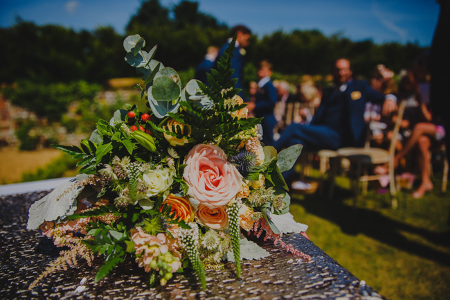Summer flowers, sequins and a relaxed party atmosphere for Joe & Nicola's Hautbois Hall wedding. Photo credit Rob Dodsworth (15)