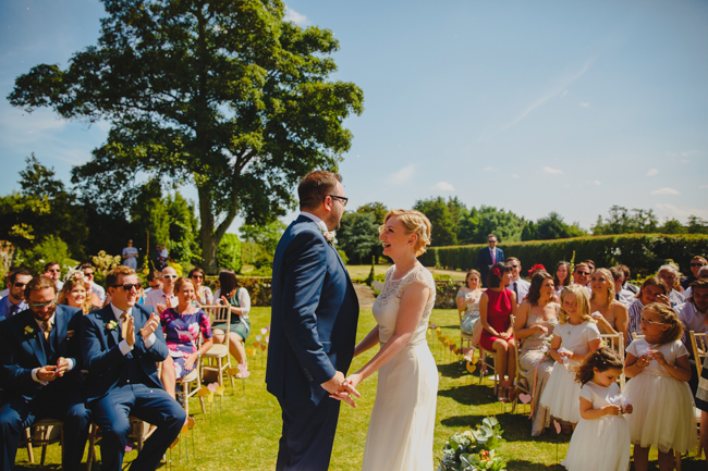 Summer flowers, sequins and a relaxed party atmosphere for Joe & Nicola's Hautbois Hall wedding. Photo credit Rob Dodsworth (16)