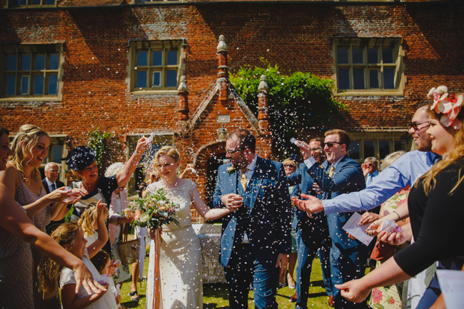 Summer flowers, sequins and a relaxed party atmosphere for Joe & Nicola's Hautbois Hall wedding. Photo credit Rob Dodsworth (17)