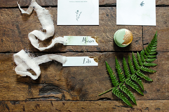 Gorgeous ferns, lush botanicals and glorious wedding stationery in a styled shoot by Sarah Williams Photography (12)