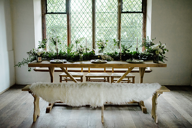 Gorgeous ferns, lush botanicals and glorious wedding stationery in a styled shoot by Sarah Williams Photography (17)