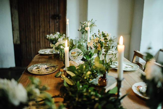 Gorgeous ferns, lush botanicals and glorious wedding stationery in a styled shoot by Sarah Williams Photography (22)