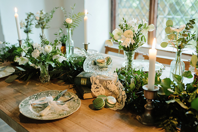 Gorgeous ferns, lush botanicals and glorious wedding stationery in a styled shoot by Sarah Williams Photography (23)
