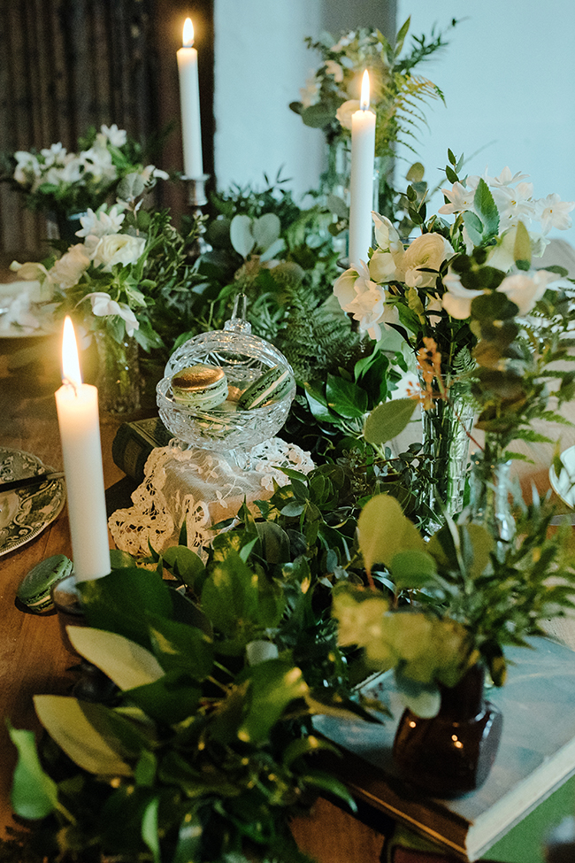 Gorgeous ferns, lush botanicals and glorious wedding stationery in a styled shoot by Sarah Williams Photography (27)
