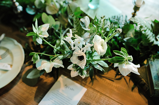 Gorgeous ferns, lush botanicals and glorious wedding stationery in a styled shoot by Sarah Williams Photography (30)