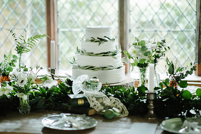 Gorgeous ferns, lush botanicals and glorious wedding stationery in a styled shoot by Sarah Williams Photography (34)