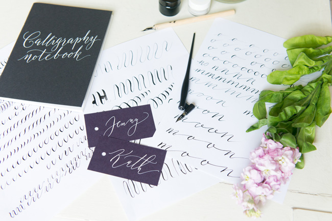 Learn modern calligraphy in Manchester with Claire Gould 2017 (5)