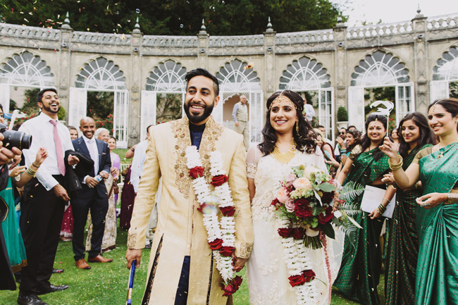 Stunning, vibrant wedding ideas from Sezincote House in Gloucestershire with Luke Hayden Photography (20)