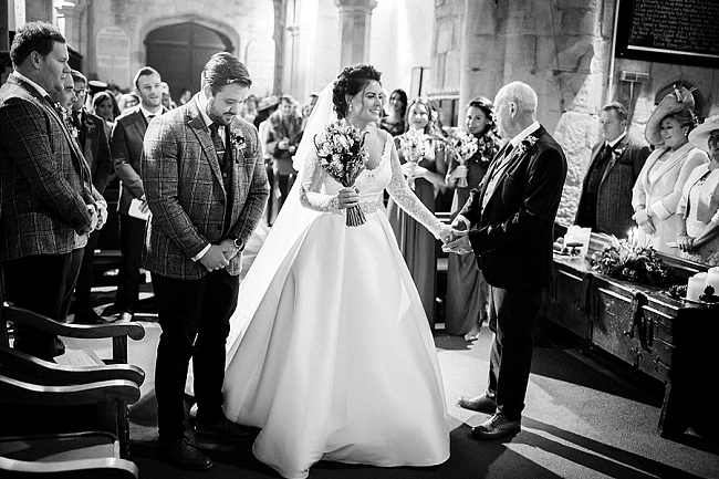 winter wedding styling ideas and gorgeous real wedding images with Damian Burcher Photography (2)