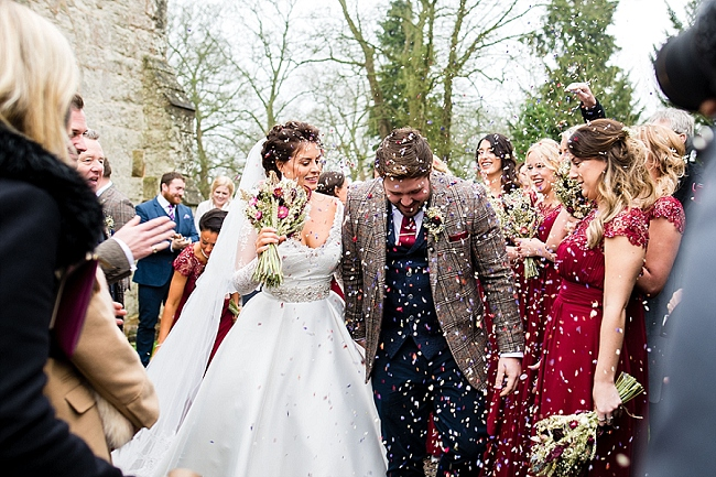 winter wedding styling ideas and gorgeous real wedding images with Damian Burcher Photography (5)