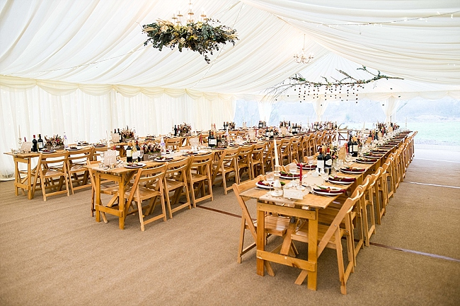 winter wedding styling ideas and gorgeous real wedding images with Damian Burcher Photography (10)
