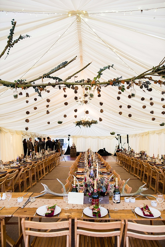 winter wedding styling ideas and gorgeous real wedding images with Damian Burcher Photography (14)