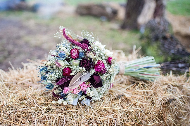 winter wedding styling ideas and gorgeous real wedding images with Damian Burcher Photography (24)