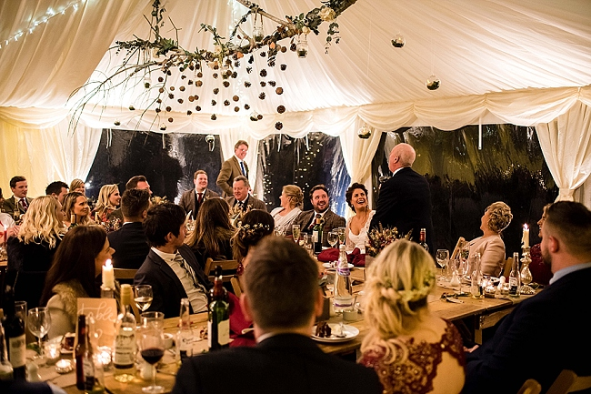 winter wedding styling ideas and gorgeous real wedding images with Damian Burcher Photography (28)