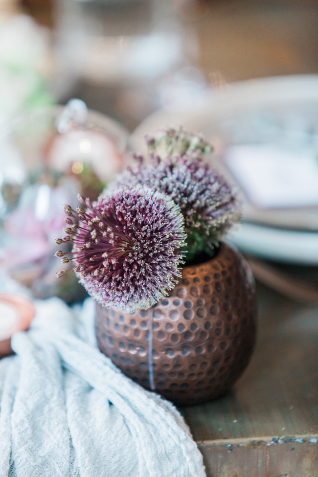 Copper and succulents for a Refinery wedding with Amanda Karen Photography Essex (8)