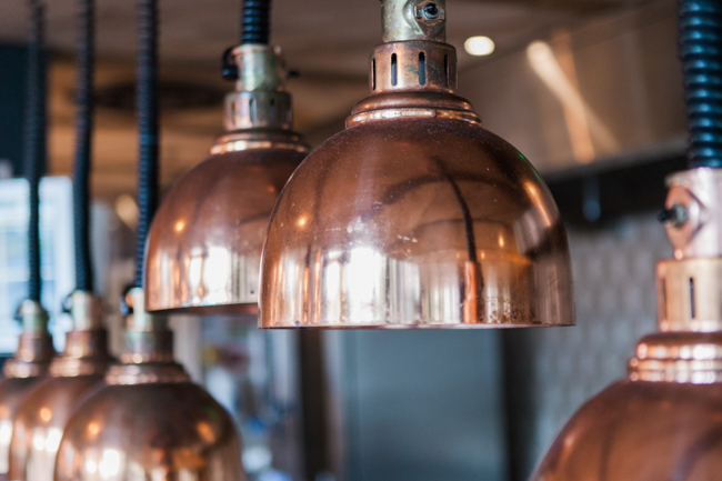 Copper and succulents for a Refinery wedding with Amanda Karen Photography Essex (12)