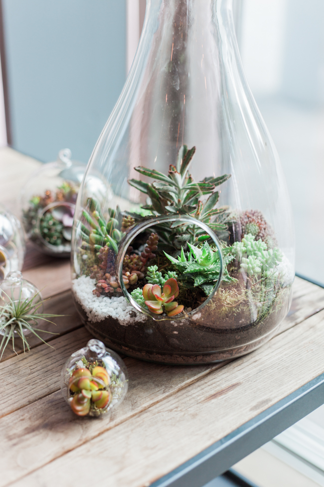 Copper and succulents for a Refinery wedding with Amanda Karen Photography Essex (2)