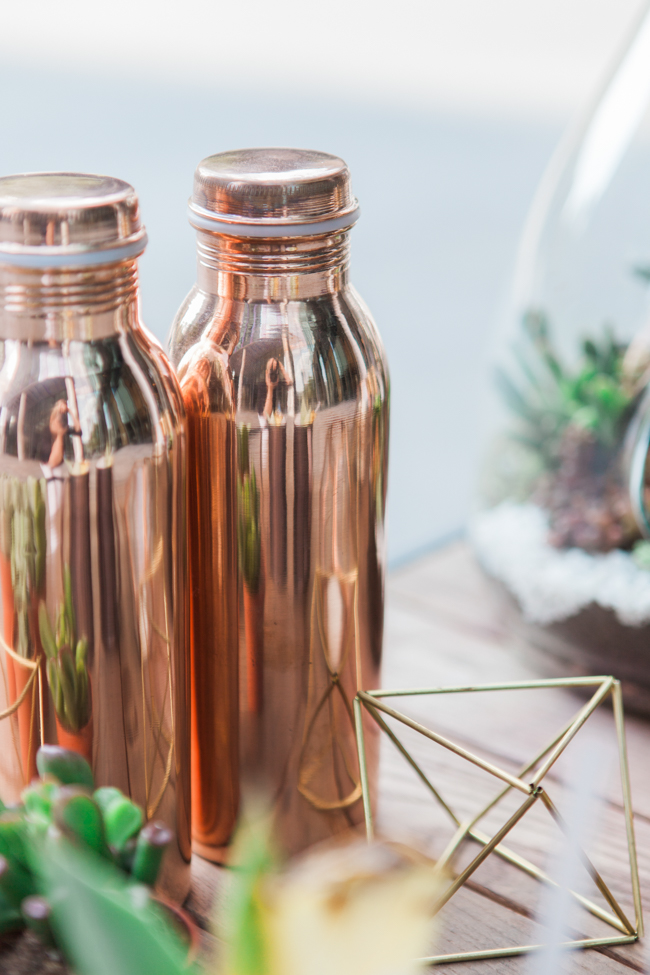 Copper and succulents for a Refinery wedding with Amanda Karen Photography Essex (6)