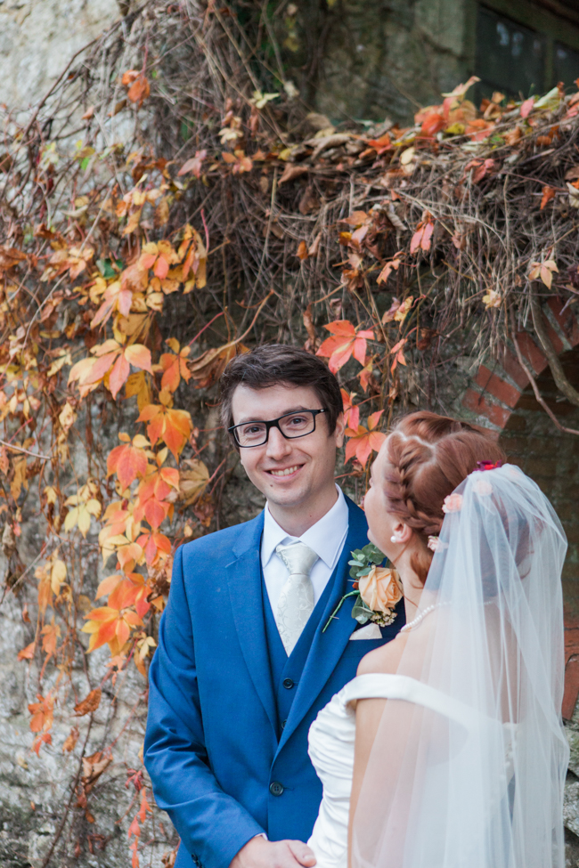 Vibrant autumn colours and tons of styling ideas for a Notley Barn wedding with Amanda Karen Photography (35)