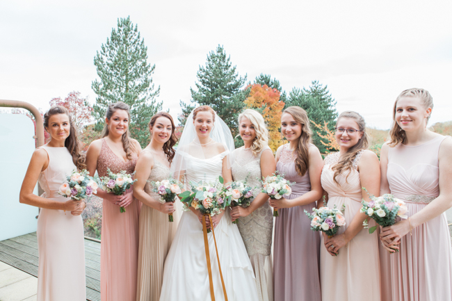 Vibrant autumn colours and tons of styling ideas for a Notley Barn wedding with Amanda Karen Photography (6)