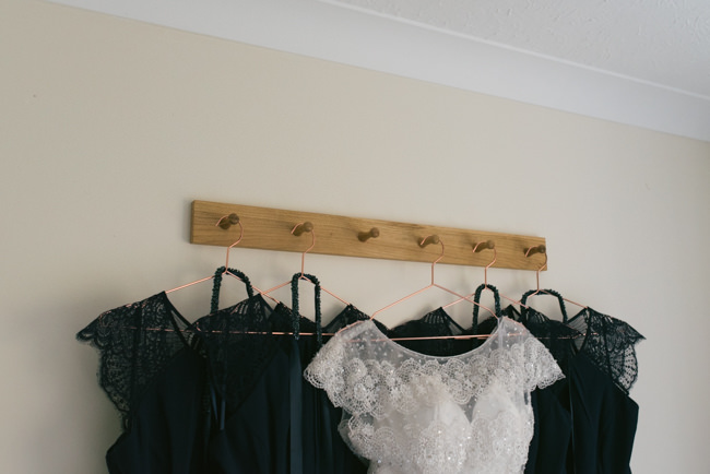 Navy and copper for a rustic restaurant wedding in Herefordshire with Che Birch-Hayes Photography (7)