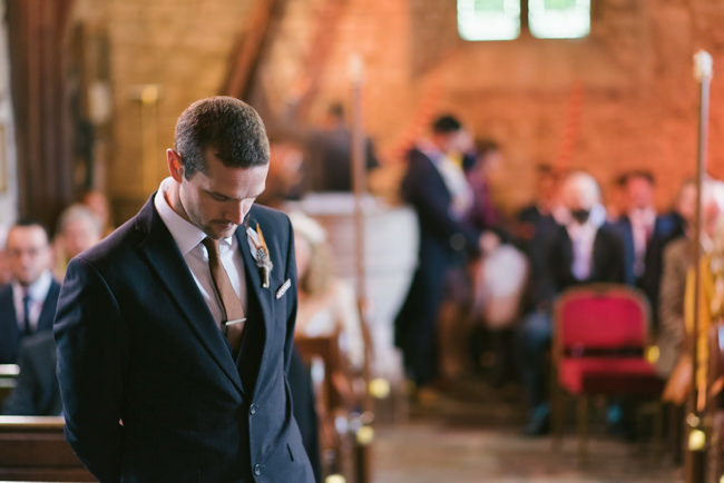 Navy and copper for a rustic restaurant wedding in Herefordshire with Che Birch-Hayes Photography (13)