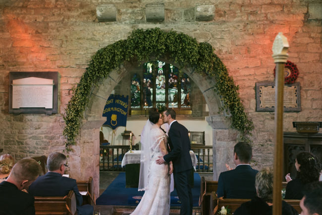 Navy and copper for a rustic restaurant wedding in Herefordshire with Che Birch-Hayes Photography (15)