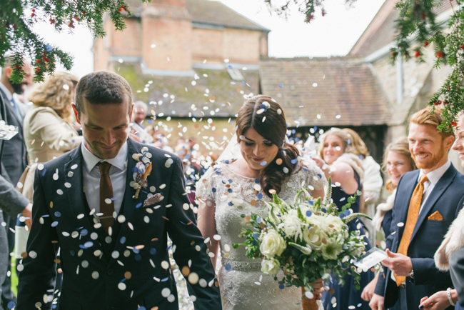 Navy and copper for a rustic restaurant wedding in Herefordshire with Che Birch-Hayes Photography (17)