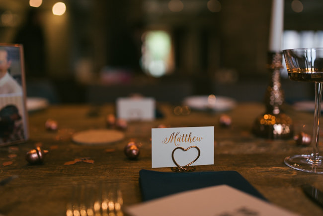 Navy and copper for a rustic restaurant wedding in Herefordshire with Che Birch-Hayes Photography (28)