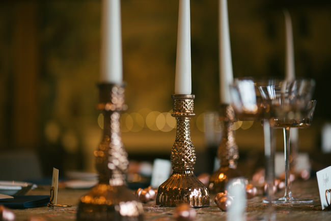 Navy and copper for a rustic restaurant wedding in Herefordshire with Che Birch-Hayes Photography (31)