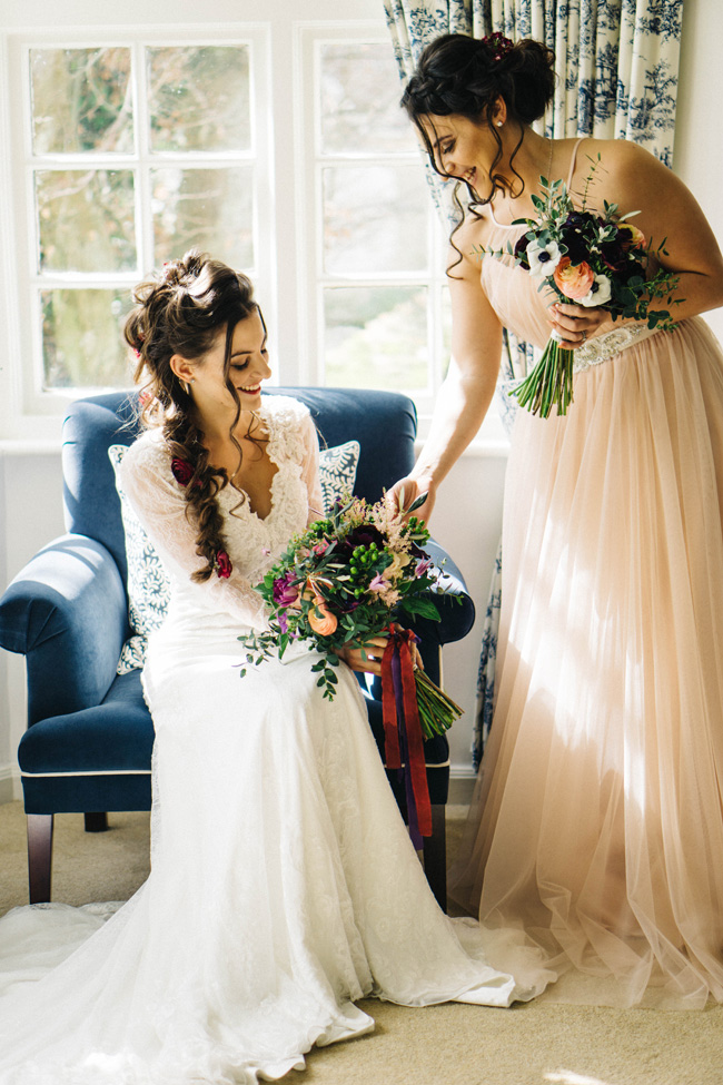 Fabulous floral wedding style ideas at Findon Manor, with Maria D'Souza Photography (1)