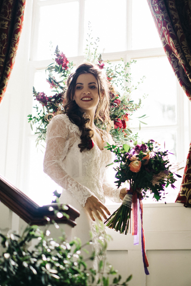 Fabulous floral wedding style ideas at Findon Manor, with Maria D'Souza Photography (4)