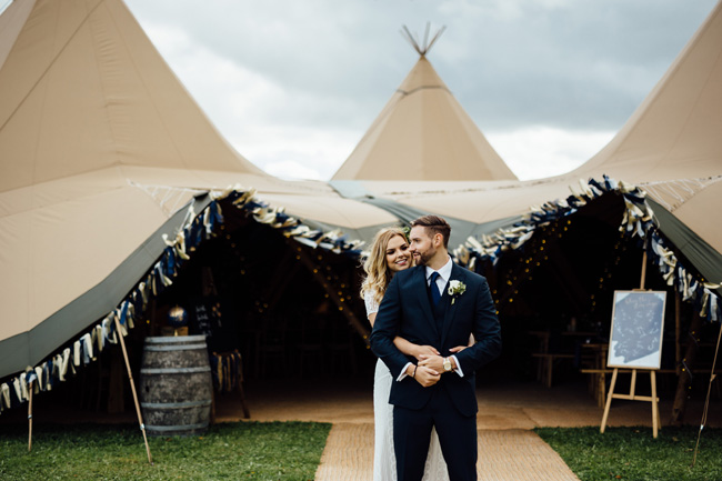 Tipi wedding ideas in Derbyshire, with Humpston and Bull Photography (13)