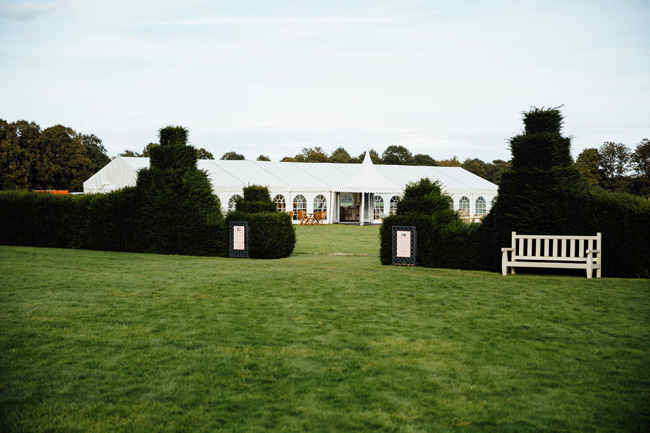 Humpston and Bull Photography at Hardwick Hall - beautiful marquee styling with florals and a touch of sparkle (16)