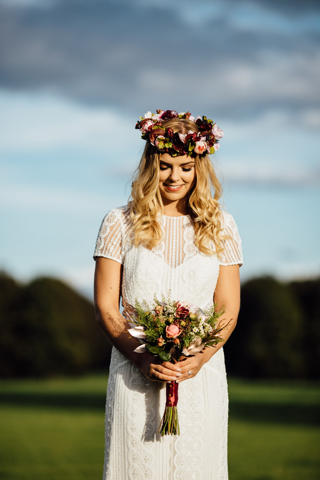 Humpston and Bull Photography at Hardwick Hall - beautiful marquee styling with florals and a touch of sparkle (20)