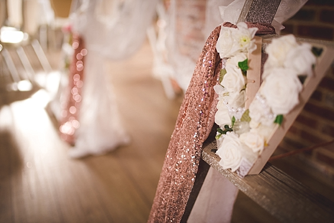 Rose gold and blush whimsical wedding ideas (17)