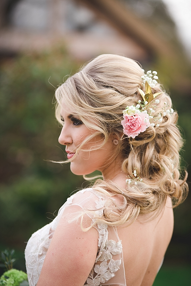 Rose gold and blush whimsical wedding ideas (19)
