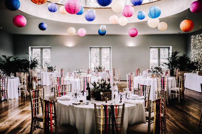 Bright and colourful spring wedding styling at the Matara Centre on the English Wedding Blog with Oobaloos Photography (34)