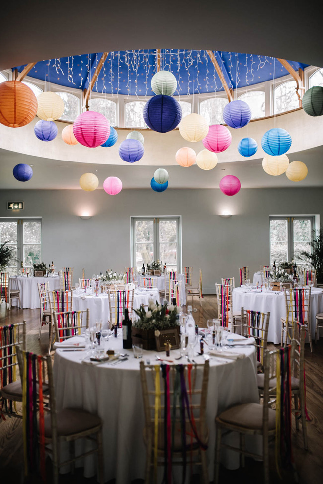 Bright and colourful spring wedding styling at the Matara Centre on the English Wedding Blog with Oobaloos Photography (35)