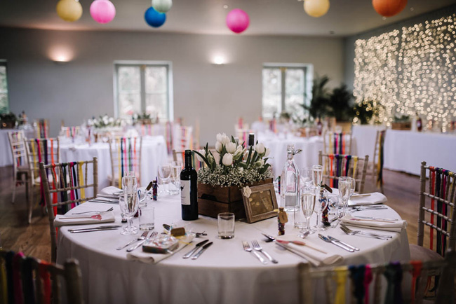 Bright and colourful spring wedding styling at the Matara Centre on the English Wedding Blog with Oobaloos Photography (41)