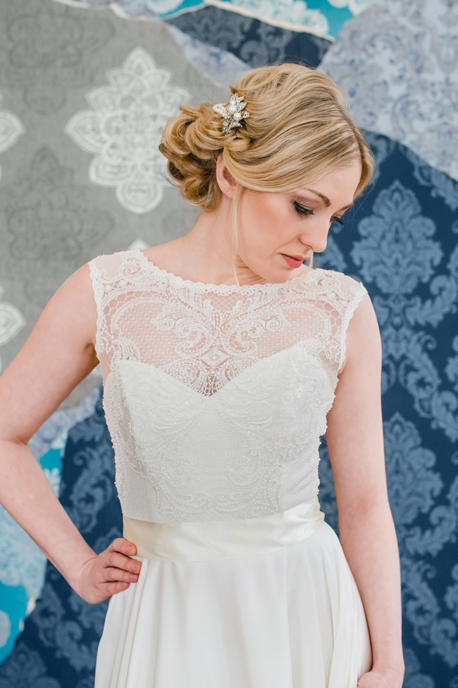 British made wedding dresses in Wales by Helen Rhiannon, photo credit Michelle Huggleston Photography (6)